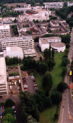 Central campus in 2002